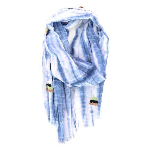 Scarf accessoires sjaals lichtblauw 213892