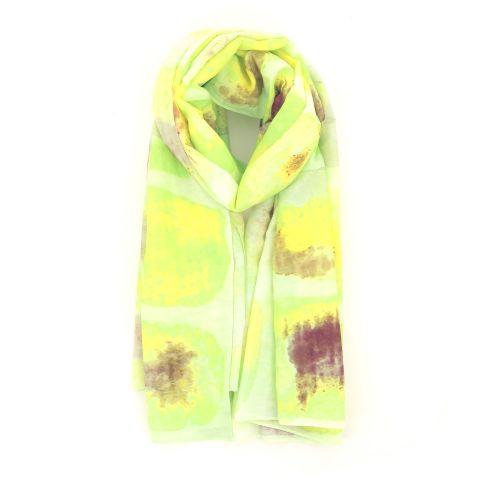 Scarf accessoires sjaals limoengeel 213887