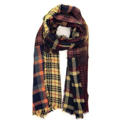 Scarf accessoires sjaals oker 210415