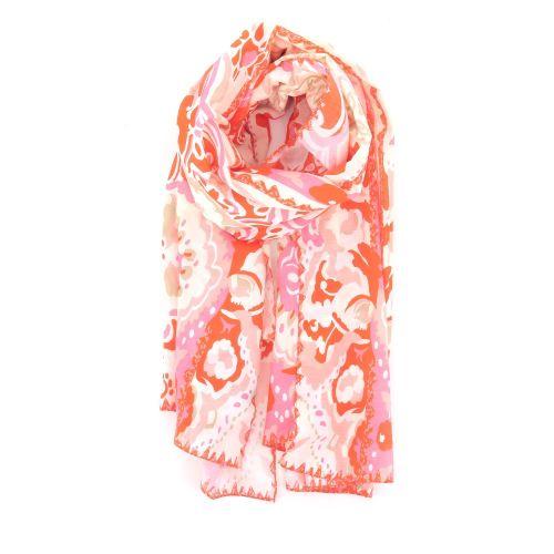 Scarf accessoires sjaals oranje 213909