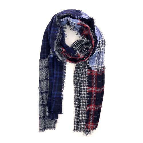 Scarf accessoires sjaals rood 210414