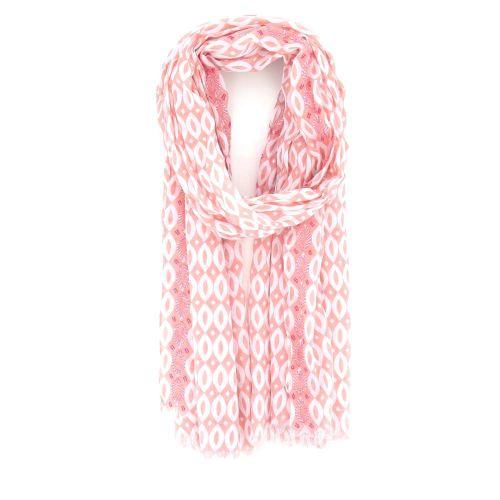 Scarf accessoires sjaals roos 213916