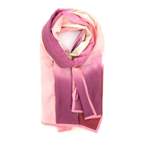 Scarf accessoires sjaals rose 213902