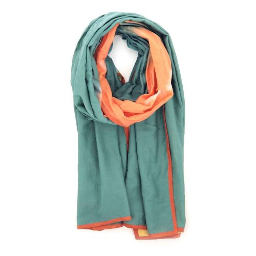 Scarf accessoires sjaals turquoise 213901