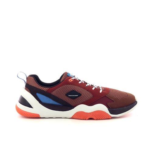 Scotch & soda  sneaker bruin 210843