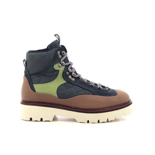Scotch & soda damesschoenen boots donkergroen 217069