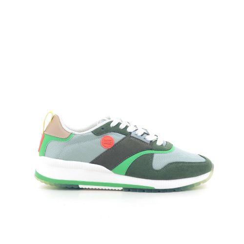 Scotch & soda damesschoenen sneaker groen 212592