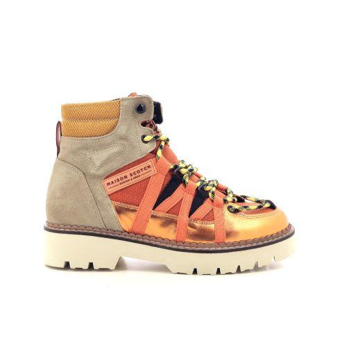 Scotch & soda damesschoenen sneaker oranje 210839