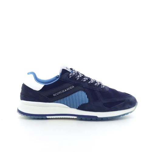 Scotch & soda  sneaker donkerblauw 204593