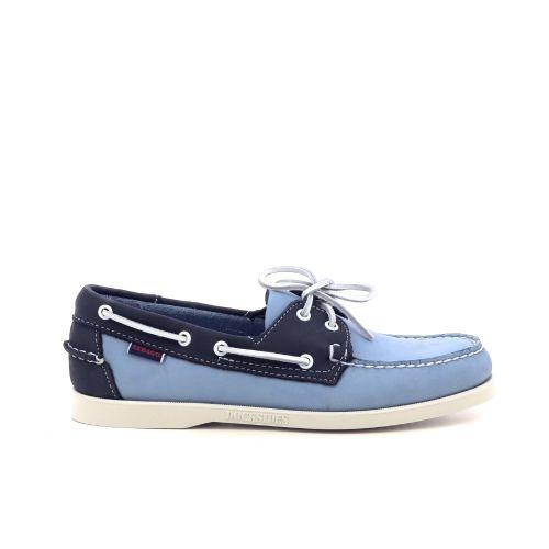 Sebago  veterschoen donkerblauw 212079