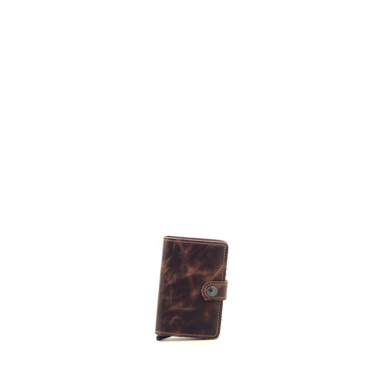 Secrid accessoires portefeuille cognac 185915