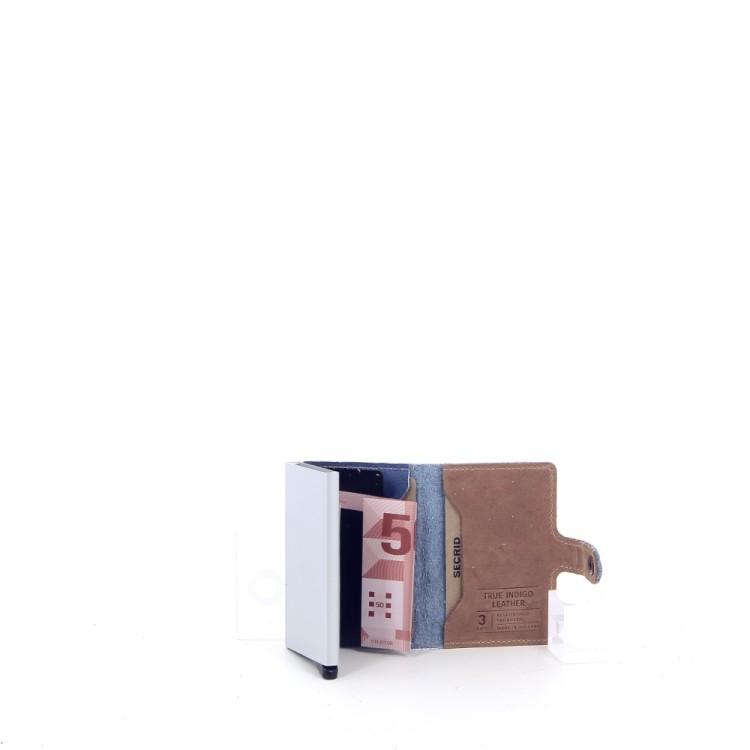 Secrid accessoires portefeuille jeansblauw 200772