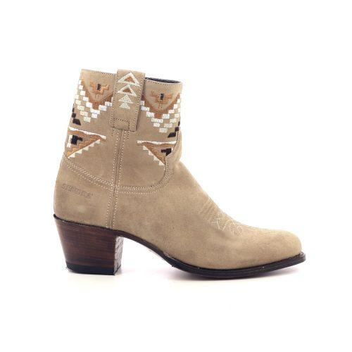 Sendra damesschoenen boots beige 205566
