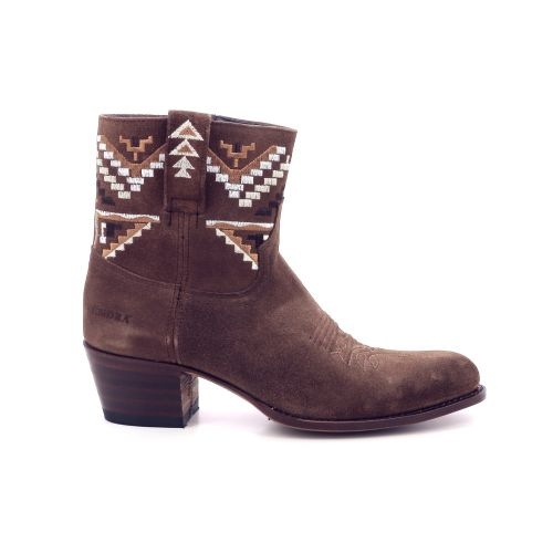 Sendra damesschoenen boots naturel 199206