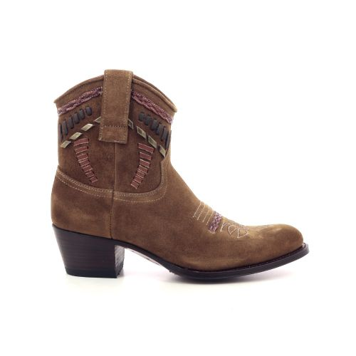 Sendra damesschoenen boots naturel 205565