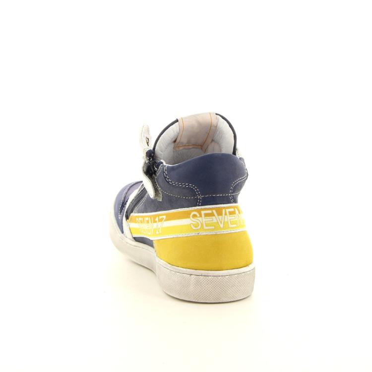 Sevenoneseven kinderschoenen boots blauw 11134