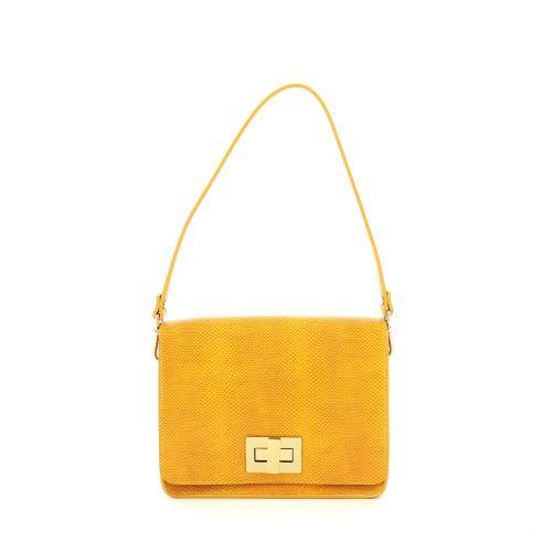 Sgamo solden handtas geel 186708
