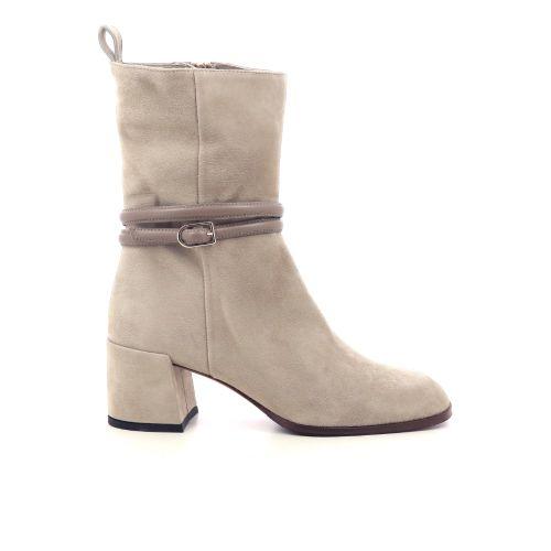 Shi's damesschoenen boots beige 218757