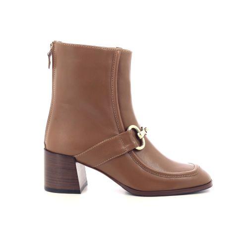 Shi's damesschoenen boots naturel 218766