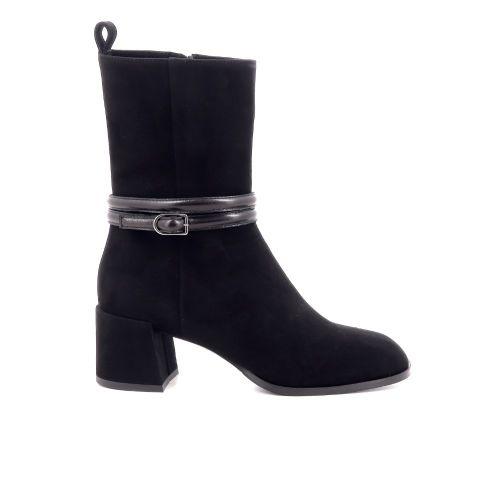Shi's damesschoenen boots zwart 218754