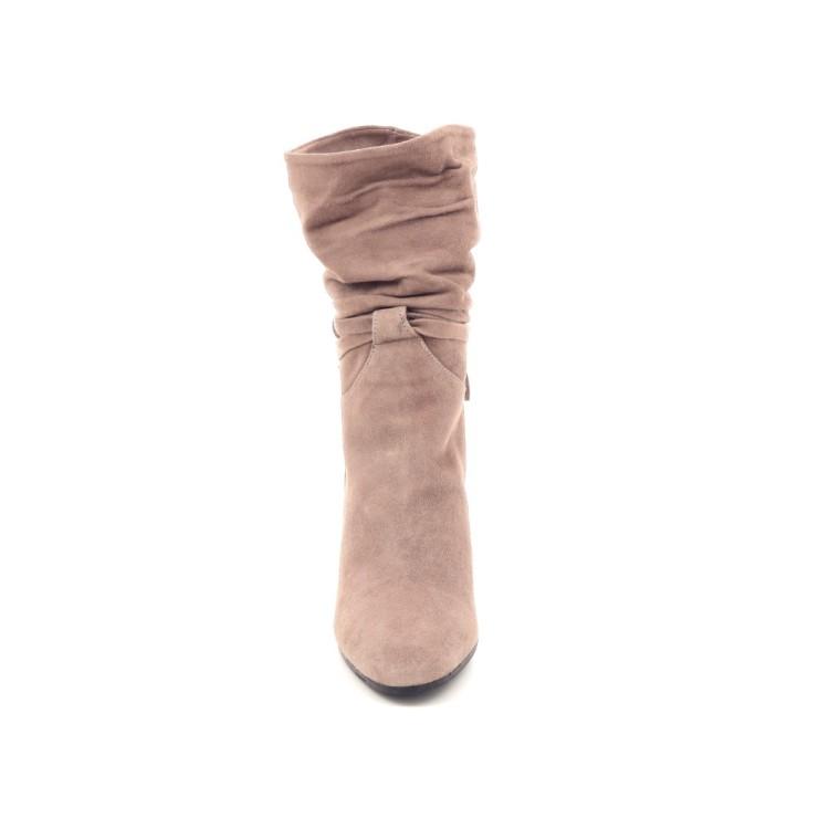 Shi's damesschoenen laars taupe 200426