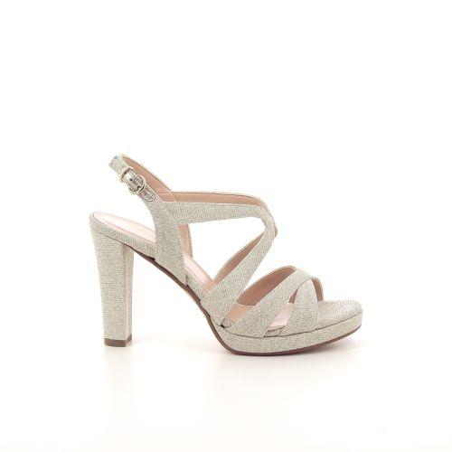 Silvana damesschoenen sandaal platino 195157