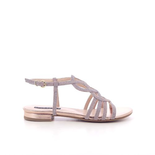 Silvana damesschoenen sandaal platino 205535