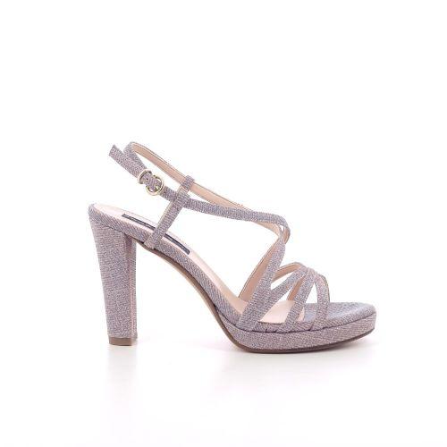 Silvana damesschoenen sandaal zilver 205550
