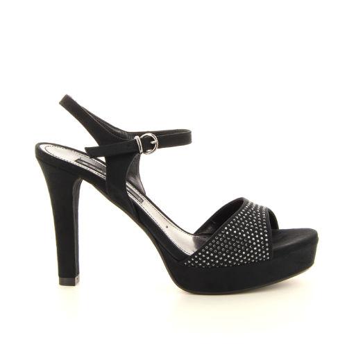 Silvana koppelverkoop sandaal zwart 12357