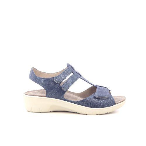 Solidus damesschoenen sandaal blauw 212344