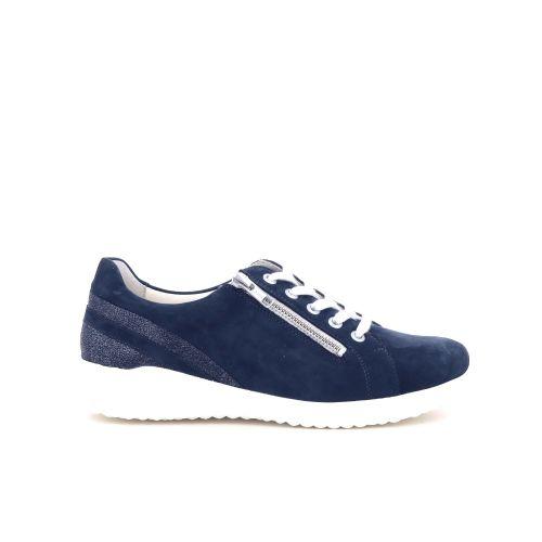Solidus damesschoenen veterschoen donkerblauw 212338