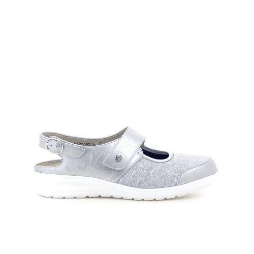 Solidus damesschoenen sandaal lichtgrijs 203312