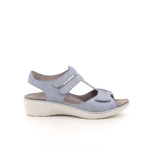 Solidus damesschoenen sandaal parelgrijs 182124