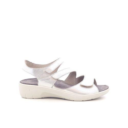 Solidus damesschoenen sandaal platino 212345
