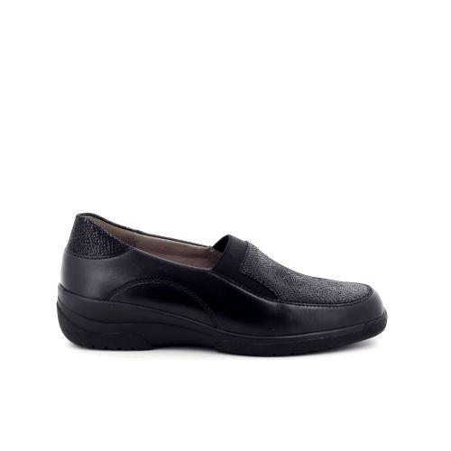 Solidus damesschoenen mocassin zwart 198530