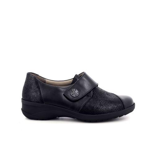Solidus damesschoenen mocassin zwart 198531