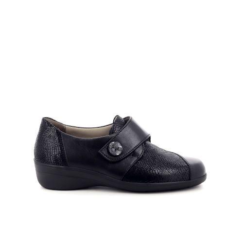 Solidus damesschoenen mocassin zwart 198539