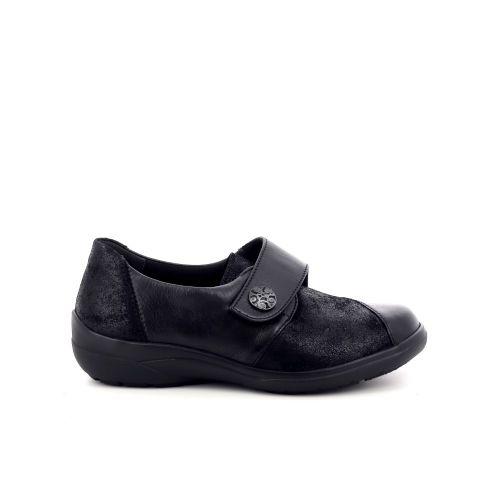 Solidus damesschoenen mocassin zwart 198540