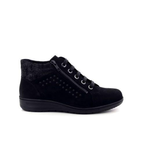 Solidus damesschoenen boots zwart 198559