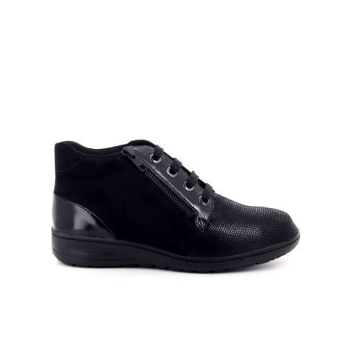 Solidus damesschoenen boots zwart 198560