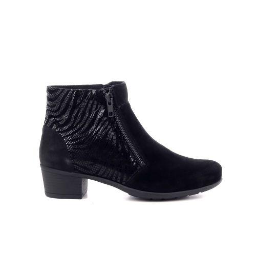 Solidus damesschoenen boots zwart 208513
