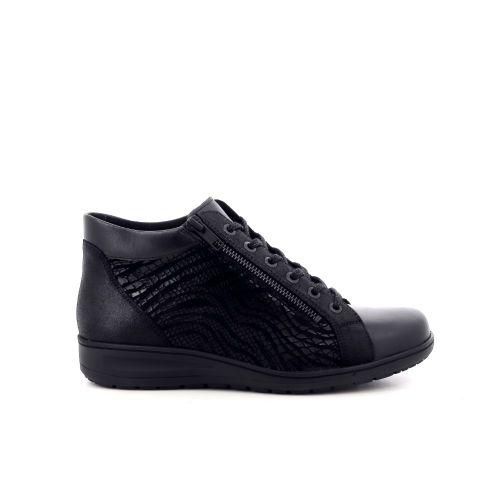 Solidus damesschoenen boots zwart 208516