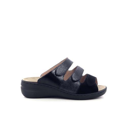 Solidus damesschoenen sleffer zwart 208533