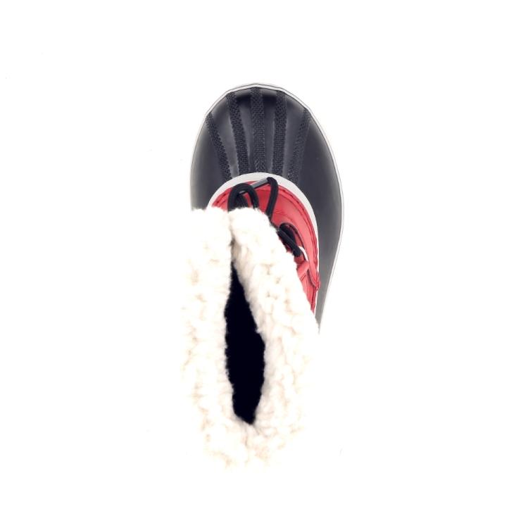 Sorel kinderschoenen rubberlaars rood 196057