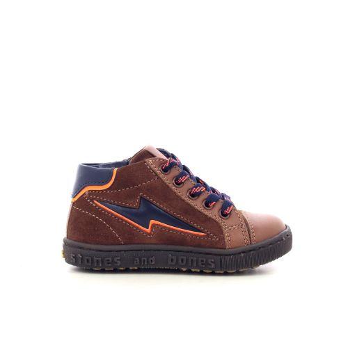 Stones and bones  boots cognac 208705