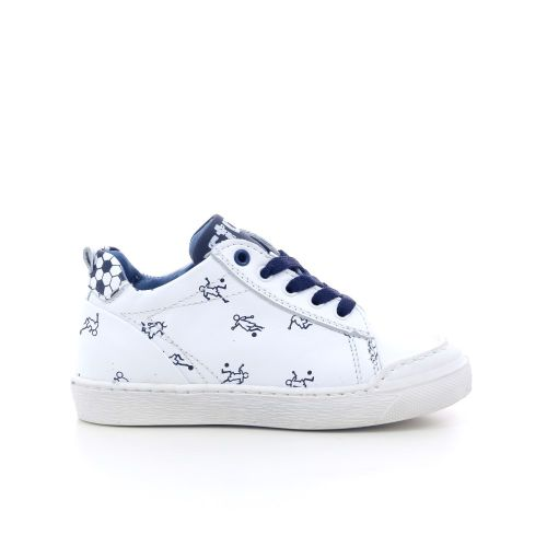 Stones and bones kinderschoenen veterschoen wit 202823