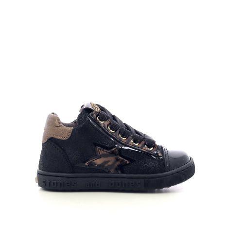 Stones and bones kinderschoenen boots zwart 218259