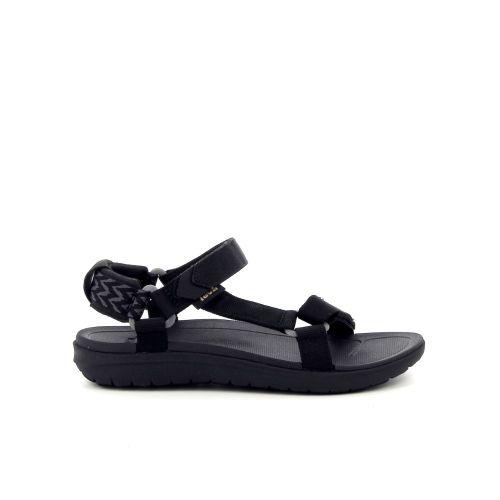 Teva damesschoenen sandaal zwart 182059