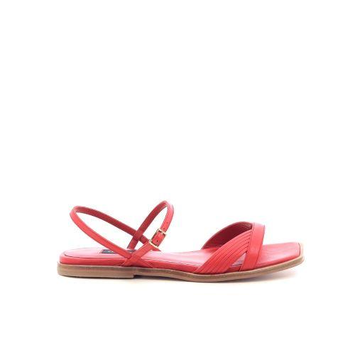 Thiron damesschoenen sandaal rood 215181