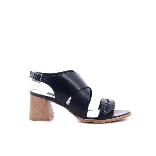 Thiron damesschoenen sandaal zwart 205522